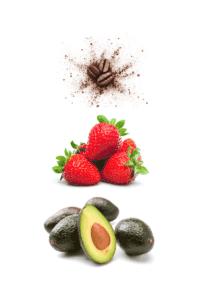 Gesichtsmaske selber machen mit Kaffee, Erdbeeren und Avocado