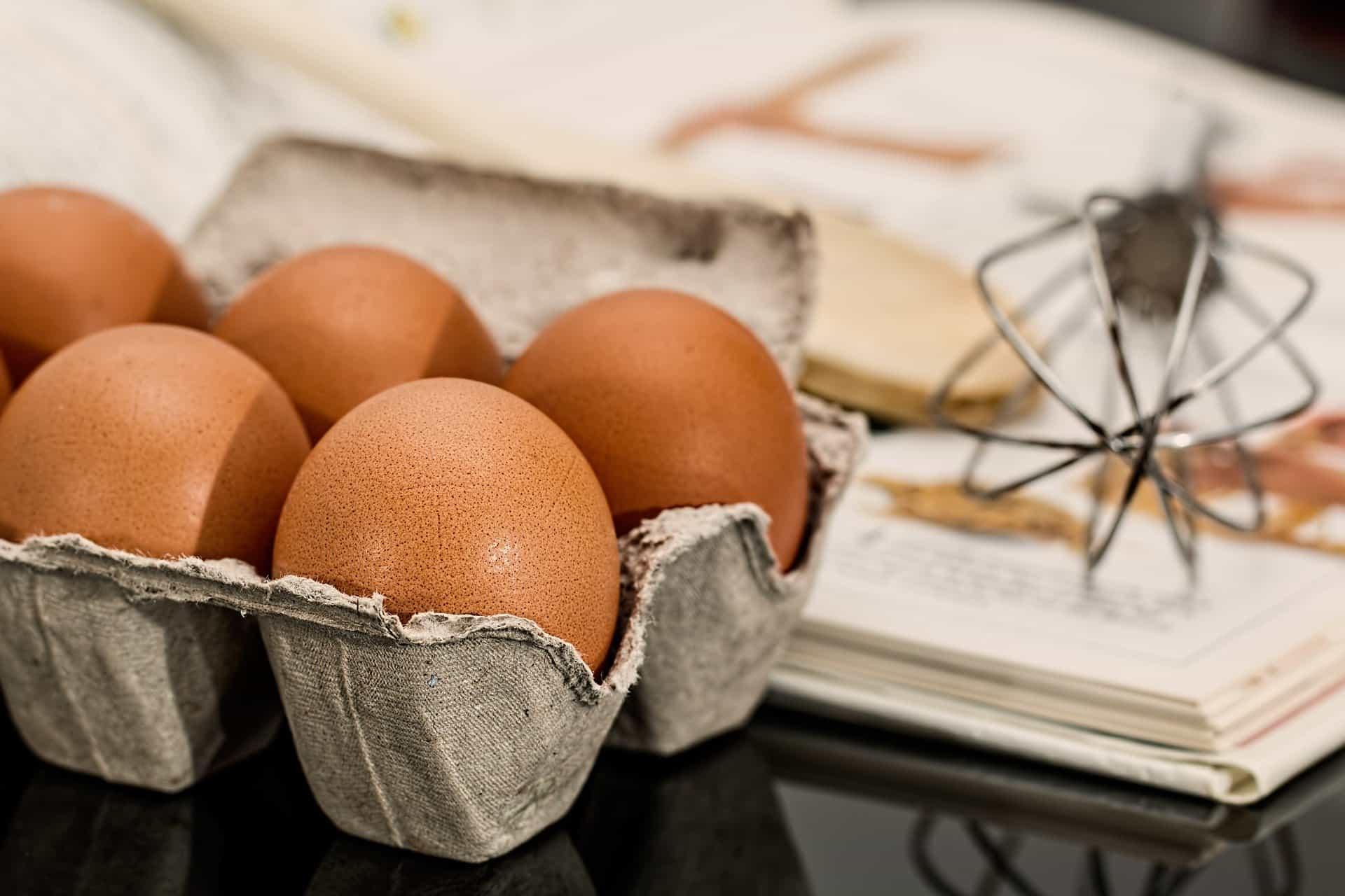 Backen macht glücklich mit Eiern