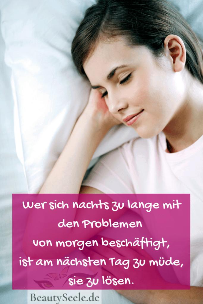 Beauty Tipps gesunder Schlaf