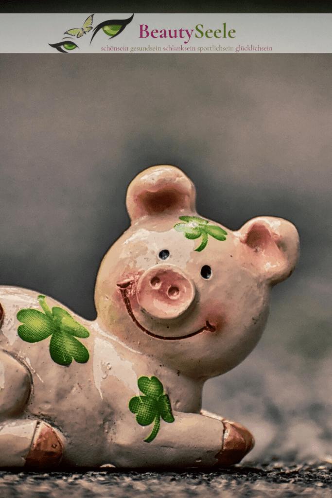 Die Glücksbringer und das Glückssymbol Schwein