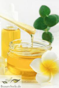 Gesichtsmaske selber machen Honig