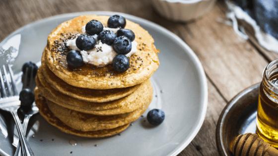 Schnelle Eiweiß Pfannkuchen Low Carb