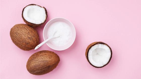 Kokosöl gegen Falten - Kokosölmaske selbst herstellen