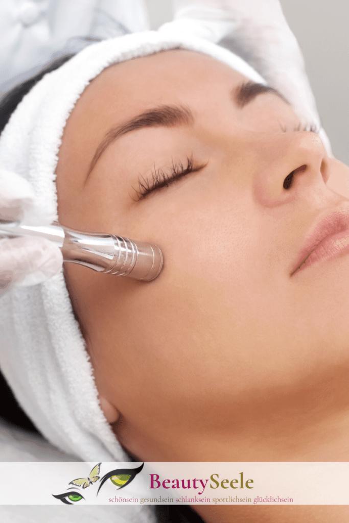 Microdermabrasion Behandlung