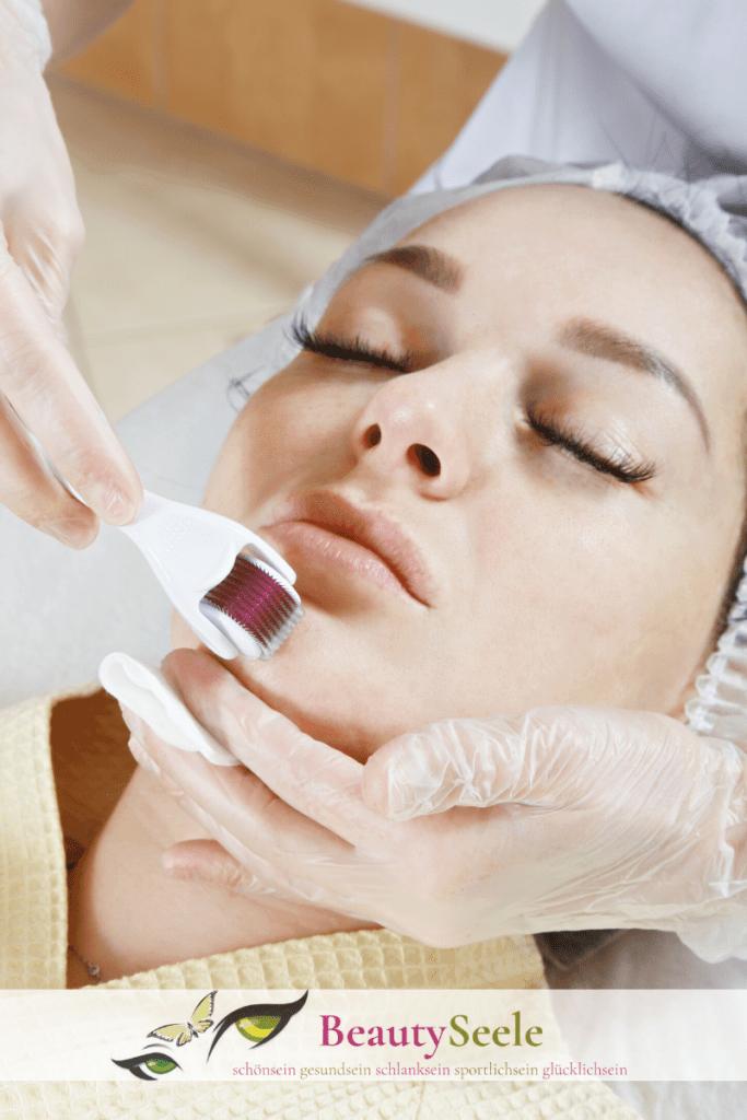 Micro-Needling Treatment und Roller