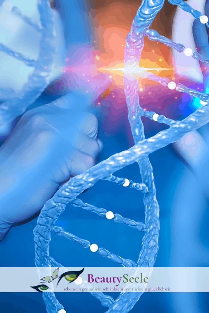Gene und trockene Haut Gesicht
