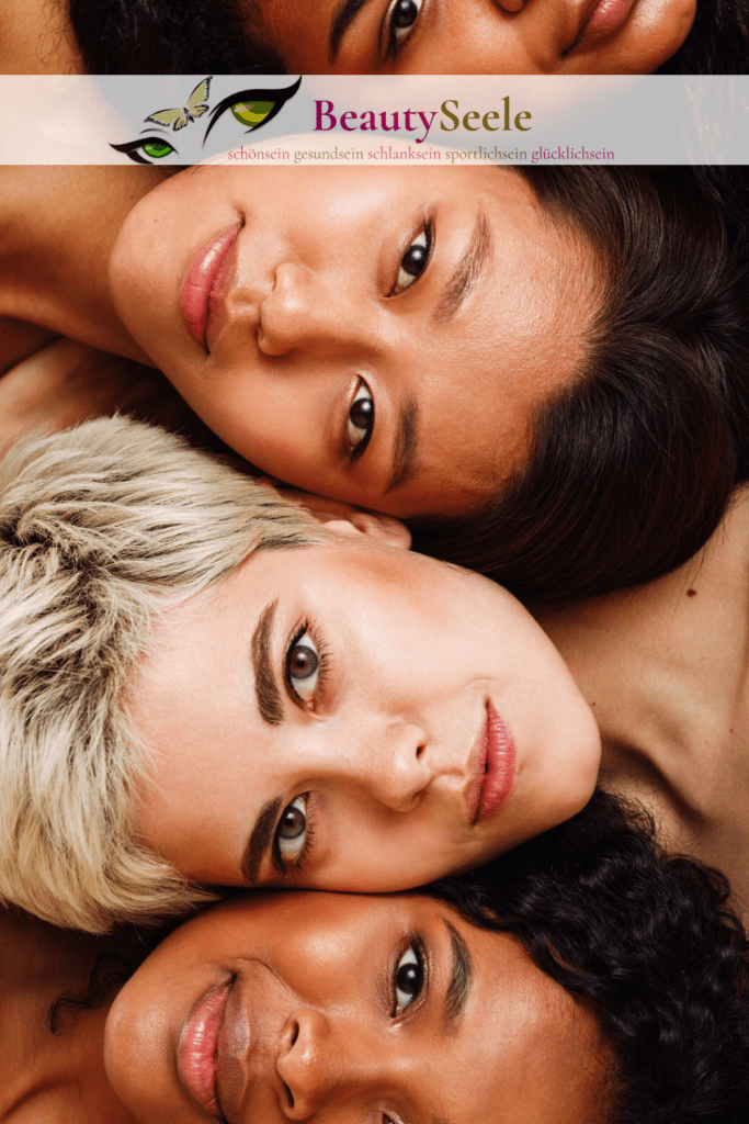 Hauttypen und trockene Haut Gesicht