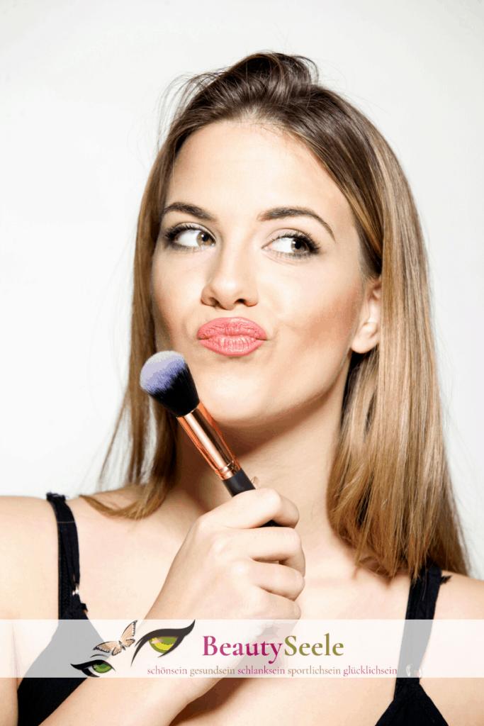 Make-up bei fettiger haut