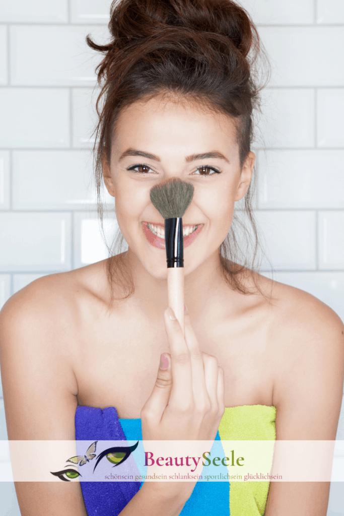 Make-up für Mischhaut