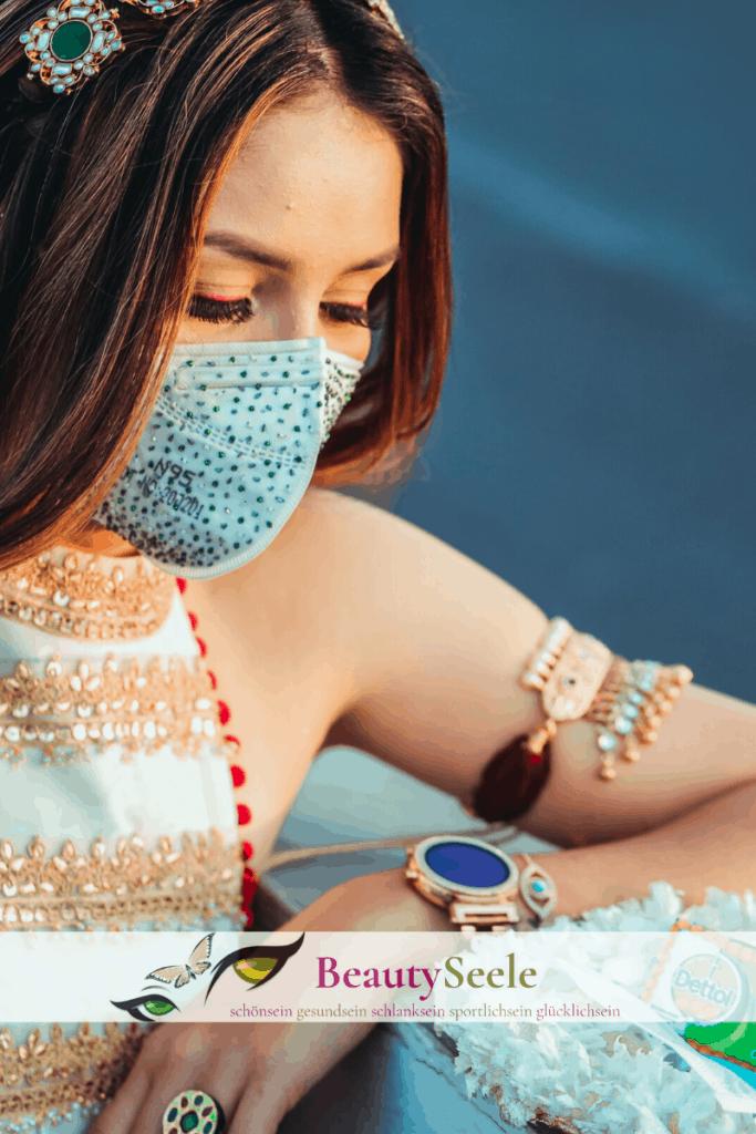 Mundschutz selbst basteln Corona Virus