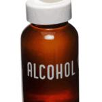 Alkohol im Gesichtstonic