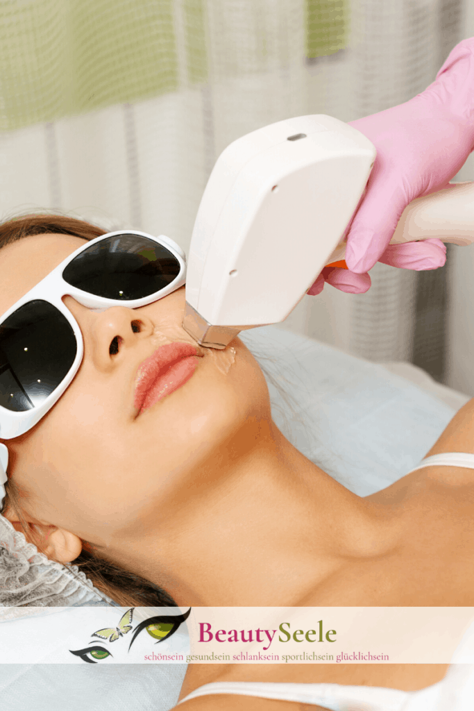Epilierer auf Laserbasis für das Gesicht