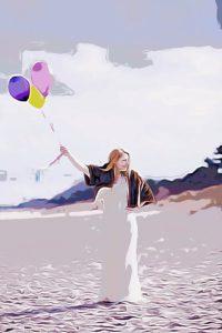 Autorin Kristin Ostheer-Suslik von Beautyseele.de und Die Glücksprinzessin